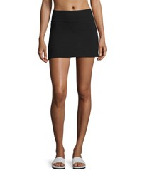Beyond Yoga X Kate Spade New York Side Slit High Rise Performance Skirt Jet