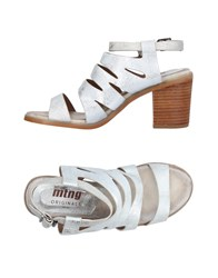 Mtng Sandals Silver