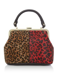 Therapy Daisy Frame Bag Leopard