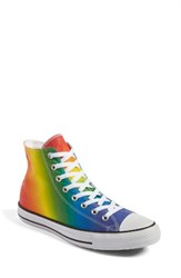 Converse Women's Chuck Taylor All Star Pride High Top Sneaker Purple