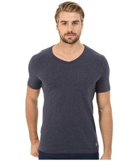 Original Penguin Bing V Neck Dark Sapphire Men's T Shirt Blue