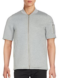 Members Only Short Sleeve Jacket Light Heather