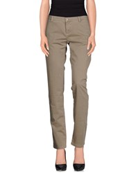 Alpha Studio Trousers Casual Trousers Women Grey