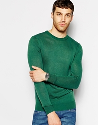 United Colors Of Benetton Jumper With Crew Neck Green169