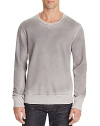 Splendid Slub Knit Long Sleeve Tee Feather Grey
