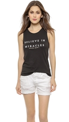 Spiritual Gangster Believe In Miracles Muscle Tee