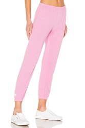 Spiritual Gangster Heart Perfect Sweatpant Pink