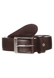 Aigner Belt Ebony Dark Brown