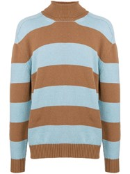 Laneus Striped Jumper Blue