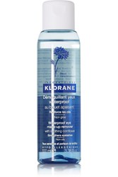 Klorane Waterproof Eye Makeup Remover With Soothing Cornflower