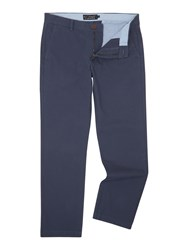 Howick Fraternity Casual Chino Slate Blue