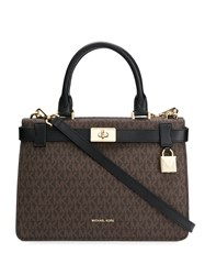 Michael Kors Mercer Gallery Tote Bag Brown