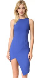 Finders Keepers Spliced Dress Cobalt