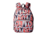 Roxy Always Core Ax Heritage Heather Liquid Lettering Bags Multi