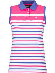 Chervo Avere Sleeveless Polo Pink