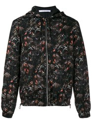 Givenchy Baboon Print Windbreaker Jacket Black