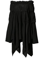 Loewe Off Shoulder Blouse Black