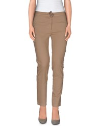 Mauro Grifoni Trousers Casual Trousers Women Sand
