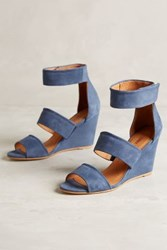 Anthropologie Emma Go Page Wedges Navy 39 Euro Wedges