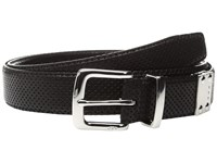 John Varvatos Lamb Reversible Belt Black Men's Belts
