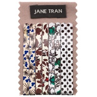 Jane Tran Floral And Spot Hair Slides Pack Of 8 Multi