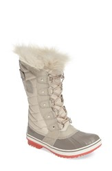 Sorel Women's 'Tofino Ii' Faux Fur Lined Waterproof Boot Fawn