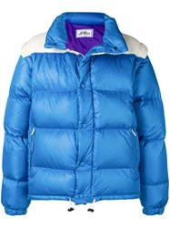 Lc23 Padded Loose Jacket Blue