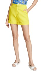 Endless Rose Tailored Shorts Yellow