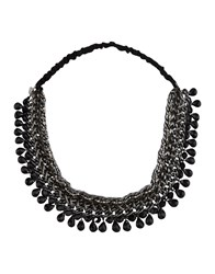 Maison Michel Necklaces Black