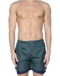 Robinson Les Bains Swim Trunks Military Green