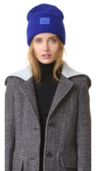 Acne Studios Pansy Wool Hat Electric Blue