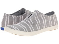 Keds Champion Chillax Washed Twill Grey Stripe Men's Slip On Shoes Multi