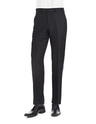 Lauren Ralph Lauren Flat Front Dress Pants Black