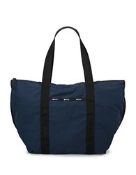 Le Sport Sac Large On The Go Tote Classic Navy Blue