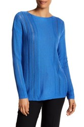 Lafayette 148 New York Bateau Neck Sweater Multi