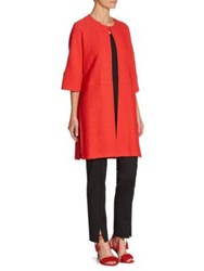 St. John Dolman Sleeve Jacket Tikka Red