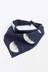 Urban Outfitters Moon Phase Bandana Black
