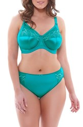 Plus Size Women's Elomi 'Cate' Underwire Bra Caribbean