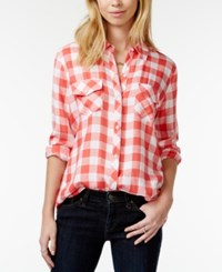 Maison Jules Gingham Button Down Shirt Only At Macy's