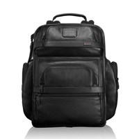 Tumi T Pass Business Class Brief Pack Black Leather