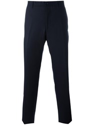 Salvatore Ferragamo 'City Fit' Tailored Chinos Blue