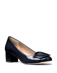 Michael Michael Kors Pauline Patent Leather Pumps Admiral Blue