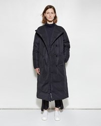 Zucca Nylon Down Coat Black