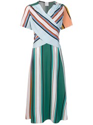 Paul Smith Striped Criss Cross Dress Multicolour