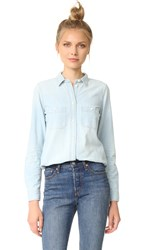 Madewell Slim Boyshirt In Chambray Halstead Wash