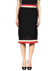 Sonia Rykiel Knee Length Skirts Black