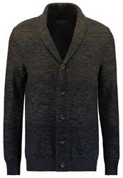Selected Homme Shxelliot Cardigan Olive Night Dark Sapphire