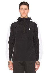 Undefeated Streak Anorak Jacket Black And White