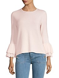 Saks Fifth Avenue Bell Sleeve Cashmere Sweater Ivory