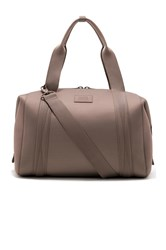 Dagne Dover Landon Large Carryall Handbag Brown
